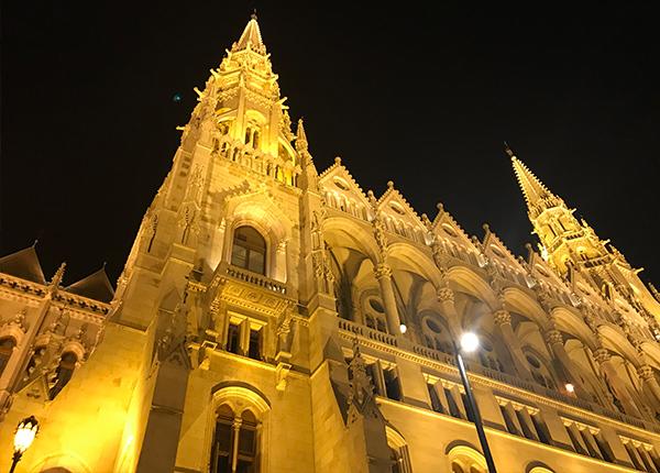 ブダペスト国会議事堂の美しい装飾