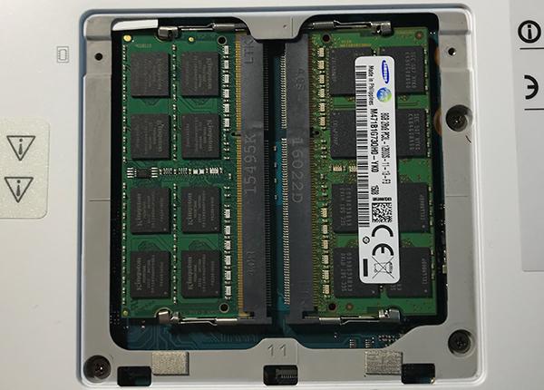 KINGSTON 8GB Notebook DDR3 1600MHz KCP3L16SD8/8をパソコンに増設